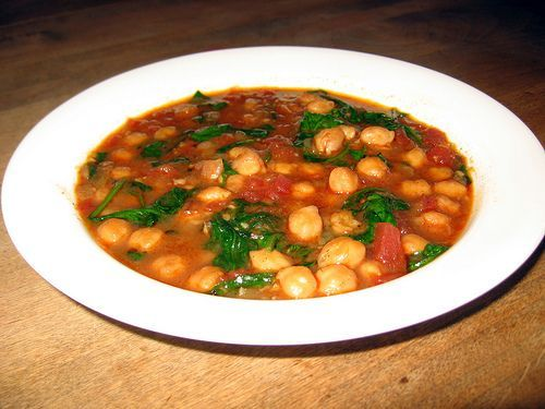 african garbanzos soup