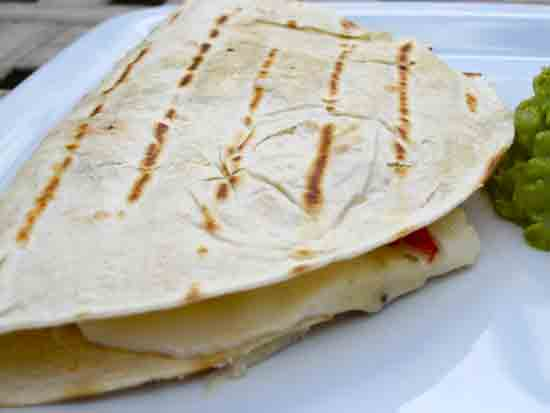 Quesadillas con Portobello